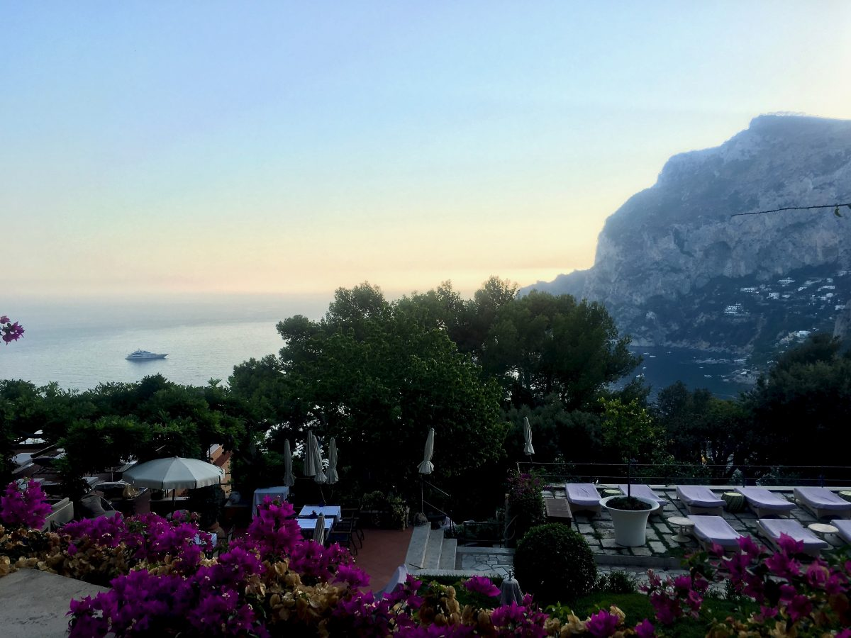 A view from Punta Tragara