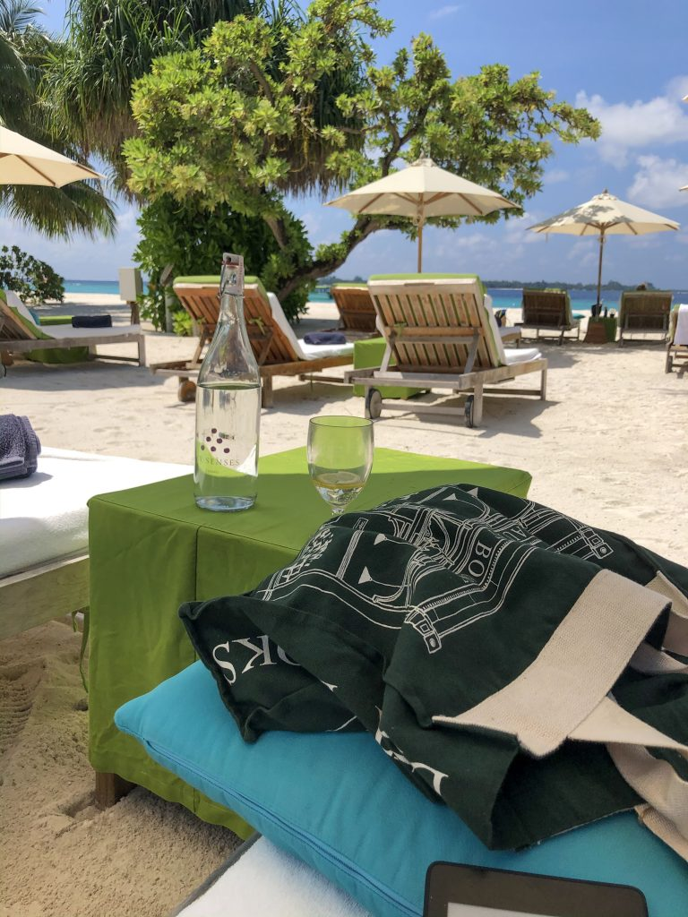 Beachside at Six Senses Laamu